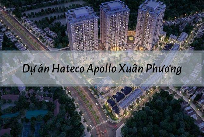 Tổng thể dự án Hateco Apollo Xuân Phương – Khu đô thị Vân Canh HUD
