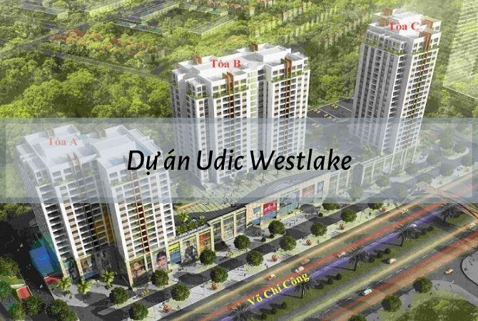 Tổng thể dự án Udic Westlake – Khu đô thị Vân Canh HUD