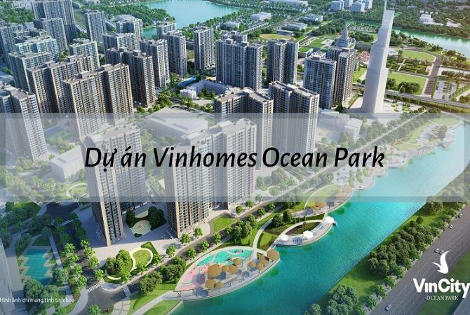 Tổng thể dự án Vinhomes Ocean Park – Khu đô thị Vân Canh HUD