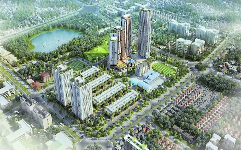 TỔNG QUAN CHUNG CƯ SHOPHOUSE HD MON CITY
