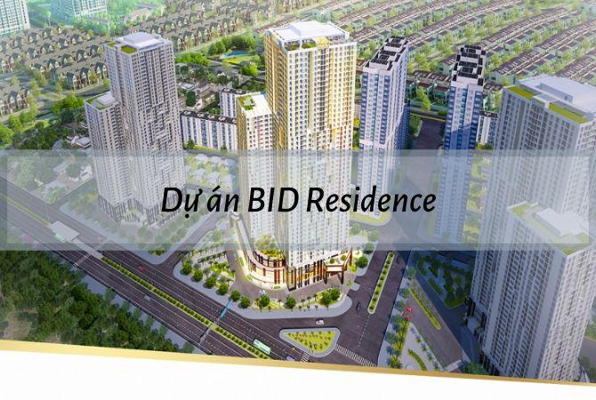 Tổng thể Dự án BID Residence – Khu đô thị Vân Canh HUD
