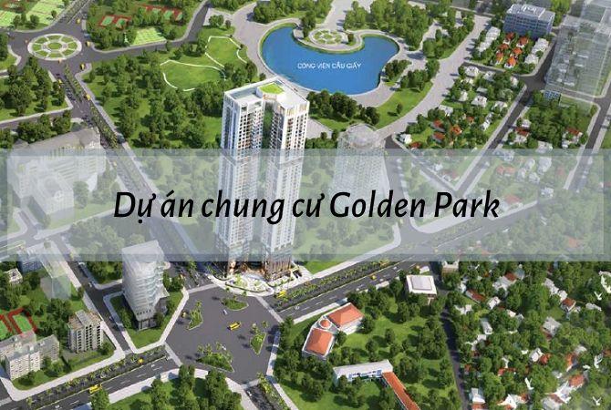 Tổng thể dự án Chung cư Golden Park – Khu đô thị Vân Canh HUD