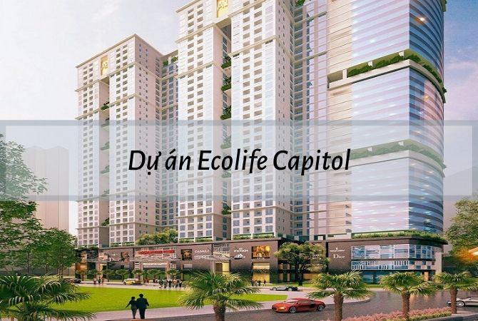 Tổng thể dự án Ecolife Capitol – Khu đô thị Vân Canh HUD